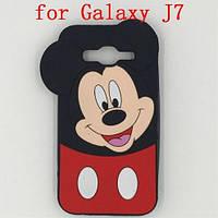 Объемный 3d силиконовый чехол для Samsung J7 Galaxy J700