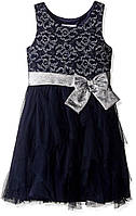Нарядное платье Bonnie Jean Girls' Sleeveless Side Sash Party Dress 4 года