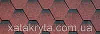 Битумная черепица катепал katepal katrilli осенний красный