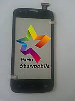 Сенсор (Тачскрин) для мобильного телефона Prestigio 4055, черный