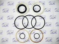 Ремкомплект гидроцилиндра ЦС-125 (Т-156) ковш погрузчика (нового образца) (полиуретан белый), Т-156