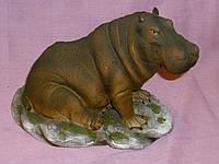Декоративная статуэтка Бегемот 16х18х12 сантиметров