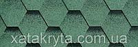 Битумная черепица катепал katepal katrilli зелень моховая