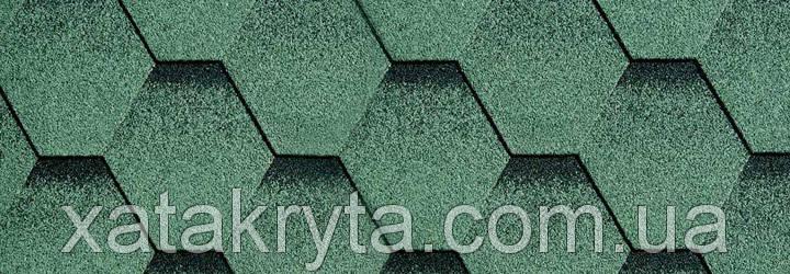 Битумная черепица катепал katepal katrilli зелень моховая, фото 2