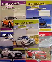 Тетрадь 36 листов линия Mini cooper lifestyle-16 №794279 5976Ф+ Зошит України Украина
