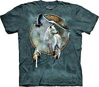3D футболка мужская The Mountain р. 46 RU футболки 3д (Дух Волка)