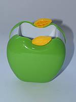 Стакан подставка Яблоко Apple зеленый ОЛ-9139