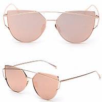 Очки солнцезащитные  розовые от студии LadyStyle.Biz, фото 1