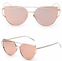 Очки солнцезащитные  розовые от студии LadyStyle.Biz