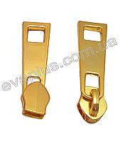 Бегунок спиральный, без фиксатора 7 (золото) С103