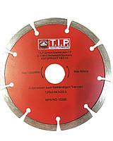 Отрезной алмазный диск по бетону и кирпичу TIP (тип) сенгментированный, 150х22