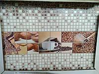 "Панно з панелей ПВХ ""Кофе"" 0,6мм (944х645мм)"