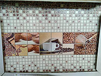 "Панно з панелей ПВХ ""Кофе"" 0,6мм (922х645мм) (комплект 3шт)"