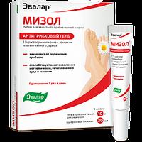 Мизол гель Набор для защиты от грибка ногтей и кожи. Гель в удобной тубе с кисточкой-аппликатором (1% раствор