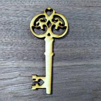 Ключик дерев'яна різьблена іграшка