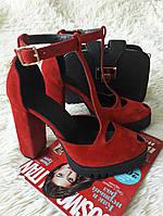 4349e190428f Замшевые туфли на высоком каблуке в Украине. Сравнить цены, купить ...