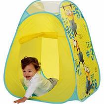 Палатка детская игровой домик Миньйоны John 4244
