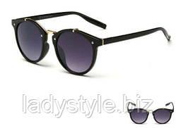 Очки солнцезащитные  классик черные от студии LadyStyle.Biz