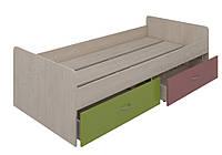 Кровать нижняя с выдвижными ящиками (2000х900) Dori Pink