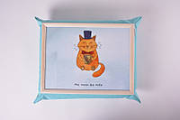 Поднос на подушке Mr. Cat / аксессуары для дома