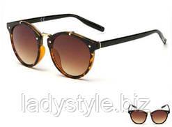 Очки солнцезащитные  классик  коричневые от студии LadyStyle.Biz
