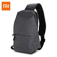 Слинг мешок рюкзак Xiaomi Sling Bag 4Л  DEEP GRAY (тёмно-серый) Мешок для фанов Сяоми!