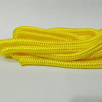 Скакалка гимнастическая жёлтая.