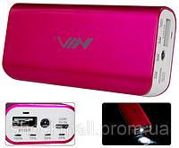 Мобильное зарядное устройство NIA N398, МР3 плеер, кардридер, фонарик