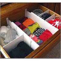 Органайзер для одежды Expandable Dresser Drawer Dividers