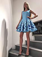 Платье Женское Летнее Короткое Black Rich (M, L)
