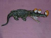 Декоративная статуэтка Крокодил 17 сантиметров длина