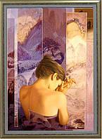 Репродукция картины современной «День тебя ожидает» 60 х  85 см