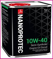 Моторное масло NANOPROTEC DIESEL 10W-40, 1л, фото 1