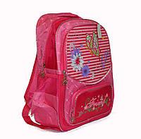Школьный рюкзак для девочки розовый