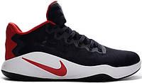 Кроссовки Nike Hyperdunk 2016 Low Black White Red