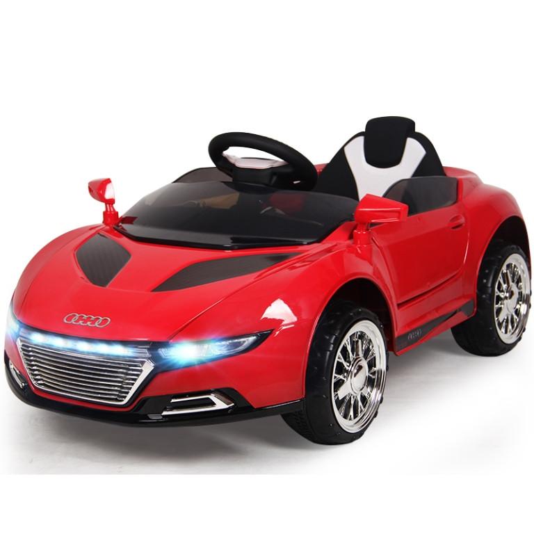 Детский электромобиль T-766 Audi RS9 Красный