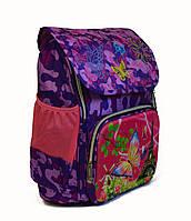 Школьный рюкзак для девочки сортопедической спинкой