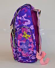 Школьный рюкзак для девочки сортопедической спинкой, фото 3