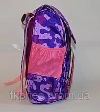 Школьный рюкзак для девочки сортопедической спинкой, фото 2