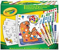 Crayola Набор для творчества с наклейками stickers pictures
