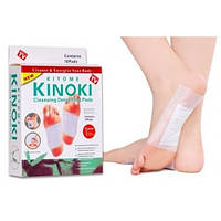 Детоксикационный пластырь для стоп Кinoki, пластырь для детоксикации Киноки