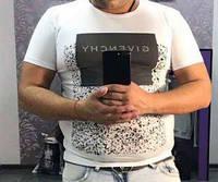 Футболка мужская Givenchy Белый (С) Котон