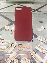 Силикон ультратонкий Baseus для Iphone 7 Red