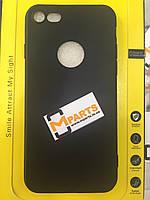 Чехол накладка Slim для iPhone 7 black
