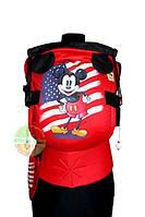 Эрго рюкзак Цитрус слинг Микки Маус (Mickey Mouse) с рисунком ручной работы