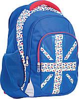 """Рюкзак подростковый Т-11 """"Britain"""", 44*32*17см"""
