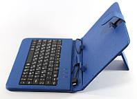 "Чехол клавиатура для планшета 7"" blue micro"