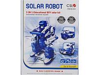Игрушка - трансформер на солнечных батарейках Solar Transformer 3 in 1