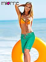 Бриджи женские спортивные зеленые Miorre