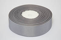 Лента репс 0.6 см, 23 м, № 03 серый
